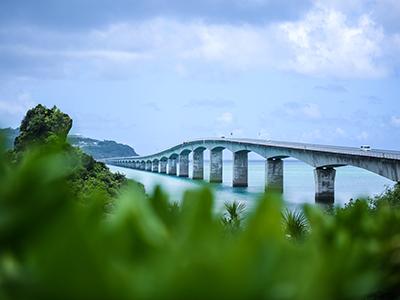 古宇利岛 - 古宇利大桥、古宇利海滩附近