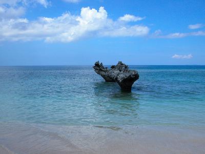 心形岩-Tinu海滩